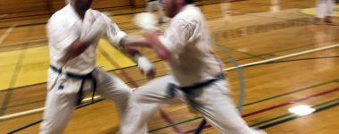 John's sanbon kumite