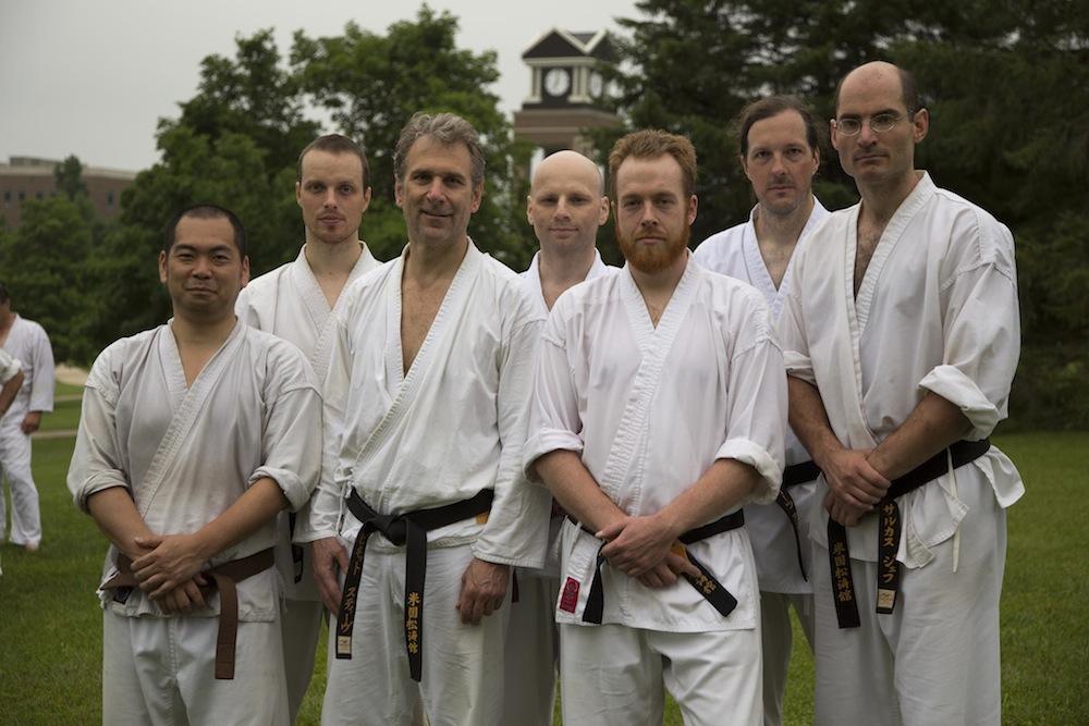 Members of the Southwest Chicago dojo